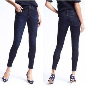 Banana Republic Zero Gravity Indigo Skinny Jeans